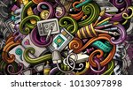 doodles graphic design... | Shutterstock . vector #1013097898