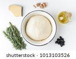 ingredients for homemade... | Shutterstock . vector #1013103526