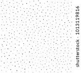 hand drawn dots background ... | Shutterstock .eps vector #1013119816