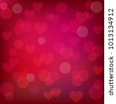 abstract st. valentine's... | Shutterstock . vector #1013134912