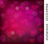 abstract st. valentine's... | Shutterstock . vector #1013134966