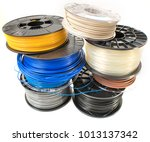 filament for 3d printing | Shutterstock . vector #1013137342