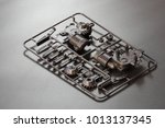 industrial injection molding... | Shutterstock . vector #1013137345