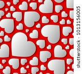 amazing seamless pattern ... | Shutterstock .eps vector #1013156005