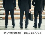 group of business people... | Shutterstock . vector #1013187736