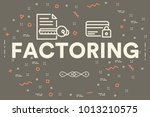 conceptual business... | Shutterstock . vector #1013210575