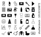 plastic icons. set of 36... | Shutterstock .eps vector #1013210872
