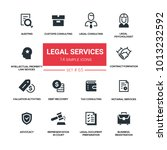 legal services   line design... | Shutterstock .eps vector #1013232592