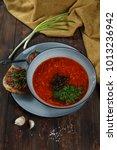 traditional ukrainian russian... | Shutterstock . vector #1013236942