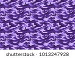 purple camouflage texture....   Shutterstock .eps vector #1013247928