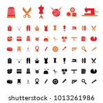tailor  tailoring  atelier ...   Shutterstock .eps vector #1013261986