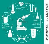 chemistry scientific  education ... | Shutterstock .eps vector #1013265436