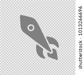 rocket vector icon eps 10.... | Shutterstock .eps vector #1013266696