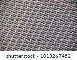 close up of a bench made of... | Shutterstock . vector #1013267452