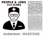 dolor head physician pictograph ... | Shutterstock .eps vector #1013272102