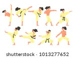 professional martial arts... | Shutterstock .eps vector #1013277652