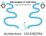 finger steps for both hand ...   Shutterstock .eps vector #1013282596