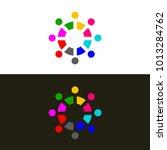 logo of association. icon... | Shutterstock .eps vector #1013284762