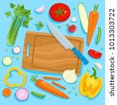 bright vector illustration of... | Shutterstock .eps vector #1013303722
