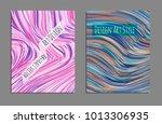 minimal covers design. bright... | Shutterstock .eps vector #1013306935