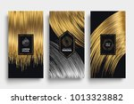 luxury packaging templates.... | Shutterstock .eps vector #1013323882