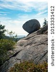Small photo of Balance Rock in Acadia National Park
