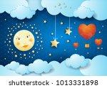 valentine illustration with...   Shutterstock .eps vector #1013331898