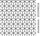 seamless pattern with isometric ...