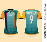 sport vintage t shirt design. | Shutterstock .eps vector #1013348662