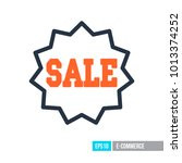 sale tag icon. e commerce sign. ...