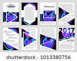 abstract vector layout... | Shutterstock .eps vector #1013380756