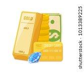 capital  money management... | Shutterstock .eps vector #1013389225