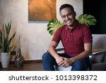 happy asian man. | Shutterstock . vector #1013398372