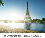 eiffel tower  paris. france | Shutterstock . vector #1013422312