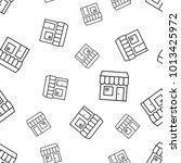 store mall building seamless...   Shutterstock .eps vector #1013425972