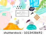 abstract universal art web... | Shutterstock .eps vector #1013438692