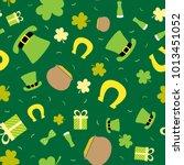 vector seamless background for... | Shutterstock .eps vector #1013451052