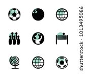 sphere icons. vector collection ...