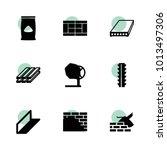 concrete icons. vector...