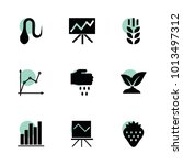 growth icons. vector collection ... | Shutterstock .eps vector #1013497312
