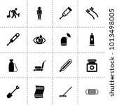 care icons. vector collection... | Shutterstock .eps vector #1013498005