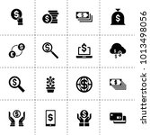 dollar icons. vector collection ... | Shutterstock .eps vector #1013498056