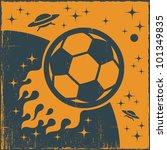 space ball. vector | Shutterstock .eps vector #101349835
