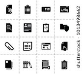 document icons. vector...
