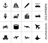 transportation icons. vector...