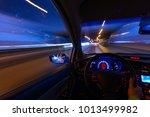 Movement Of The Car At Night O...