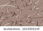bamboo background. beautiful...   Shutterstock .eps vector #1013503135