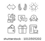 set of laurel wreath  sync and... | Shutterstock .eps vector #1013505202