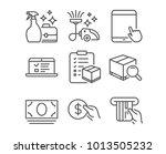 set of web lectures  cash money ...   Shutterstock .eps vector #1013505232