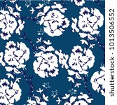 floral pattern in vector  | Shutterstock .eps vector #1013506552